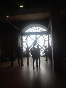 clock from afar